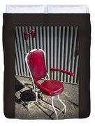 Old Dentist Chair Duvet Cover
