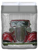 Old Desoto Duvet Cover