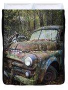 Old Dodge Truck Duvet Cover
