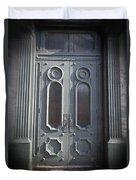Old Doorway Quebec City Duvet Cover