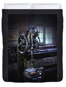 Old Drill Press Duvet Cover