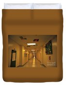 Clare Elementary School Hall Duvet Cover