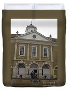 Old Exchange And Customs House Charleston South Carolina Duvet Cover