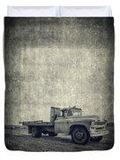 Old Farm Truck Cover Duvet Cover