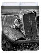Old Farm Truck Duvet Cover