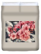 Old Fashion Azalea Duvet Cover