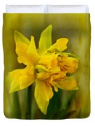 Old Fashioned Daffodil Duvet Cover
