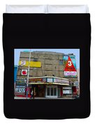Old Film Theatre In Decay Duvet Cover