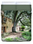 Old Florida Style II Duvet Cover
