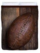 Old Football Duvet Cover