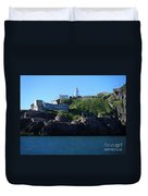 Old Fort Amherst By Barbara Griffin Duvet Cover