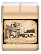 Old Fort Langley 1 Duvet Cover