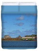 Old Fort Niagara Duvet Cover