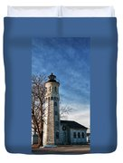 Old Fort Niagara Lighthouse 4478 Duvet Cover
