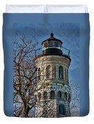 Old Fort Niagara Lighthouse 4484 Duvet Cover