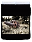 Old Foundry Gear Duvet Cover
