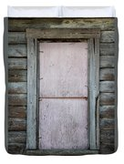 Old Framed Window Duvet Cover
