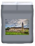 Old French Church Duvet Cover