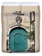 Old German Door  Duvet Cover