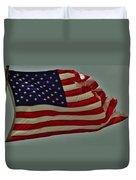 Old Glory American Flag 7 6/29 Duvet Cover