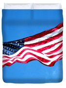 Old Glory - American Flag By Sharon Cummings Duvet Cover