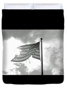 Old Glory Bw Duvet Cover