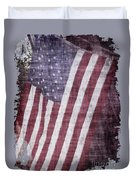 Old Glory Rustic Duvet Cover