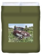 Old Gmc Truck Duvet Cover