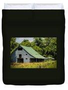 Old Gray Barn Duvet Cover