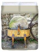 Old Grindstone Duvet Cover