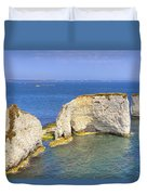 Old Harry Rocks - Purbeck Duvet Cover