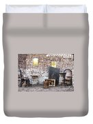 Old Home Interior Duvet Cover