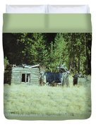 Old Homestead, Needs Work Duvet Cover