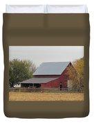 Old Horse Barn Duvet Cover