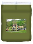 Old House In Penrose Nc Duvet Cover