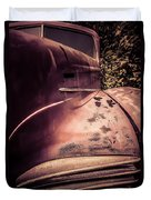 Old Hudson Car Duvet Cover