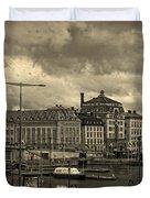 Old In Memory But Modern Copenhagen Duvet Cover