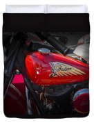 Old Indian Cycle Duvet Cover