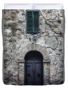 Old Italian House Duvet Cover