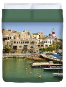 Old Jaffa Port Duvet Cover