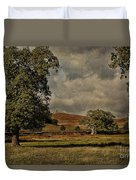 Old John Bradgate Park Leicestershire Duvet Cover by John Edwards