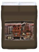 Old Kansas City Factory Building  Duvet Cover