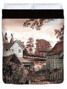 Old Kentish Oasts Duvet Cover