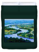 Old Man River Duvet Cover