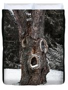 Old Man Winter Duvet Cover