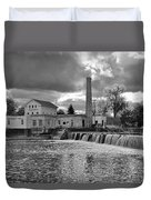 Old Mill And Banquet Hall Duvet Cover