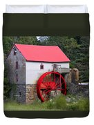Old Mill Of Guilford Duvet Cover by Sandi OReilly