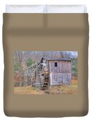 Old Mill Water Wheel And Sluce Duvet Cover