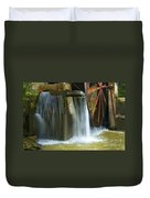 Old Mill Water Wheel Duvet Cover