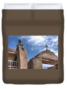 Old Mission Crosses Duvet Cover